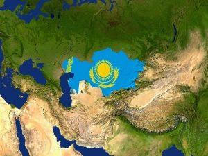 Казахстан на карте