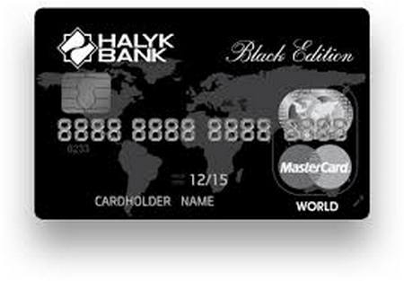 Black card halik